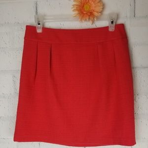Mossimo Dark Coral A-Line Skirt. Size 4.